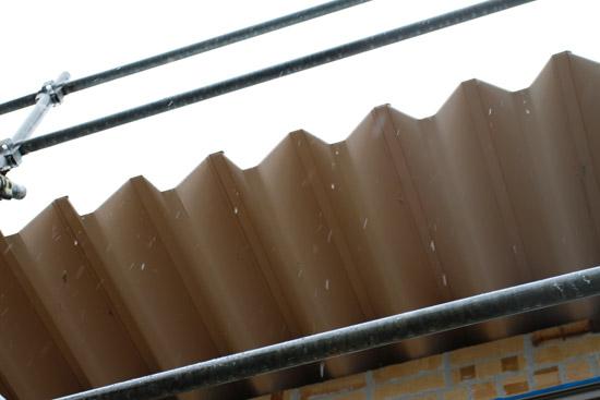 ガルバリウム鋼板「ルーフ88」の屋根